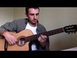 Очень красивая мелодия на гитаре!!!