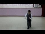 7 марта, 2014 год. Танец маленького мальчика.