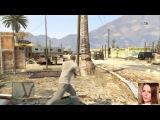 ДАВИМ БАЙКЕРОВ В Grand Theft Auto V -- Детка Геймер #8 - Саша Спилберг.